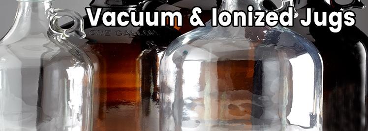 Jugs Vacuum & Ionized