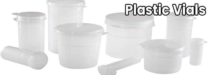 Plastic Vials & Tubes