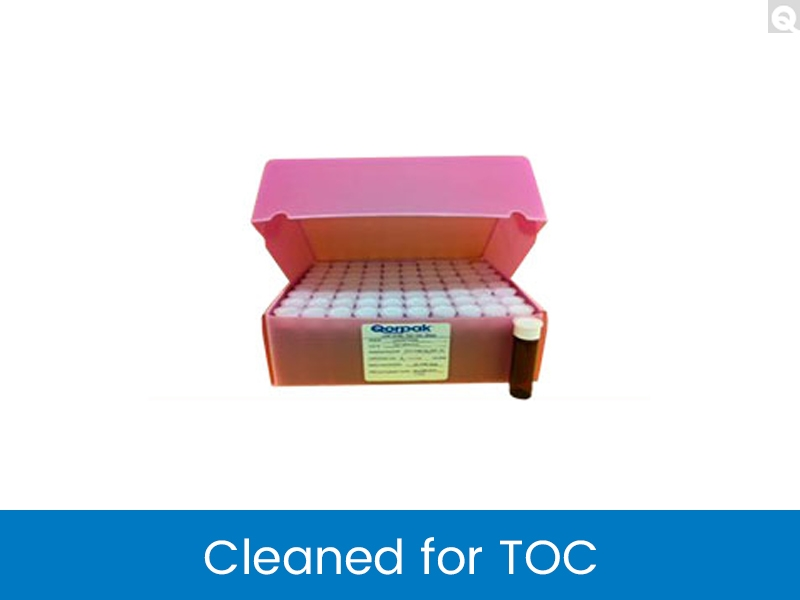 Vials Cleaned for TOC (Total Organic Carbon)