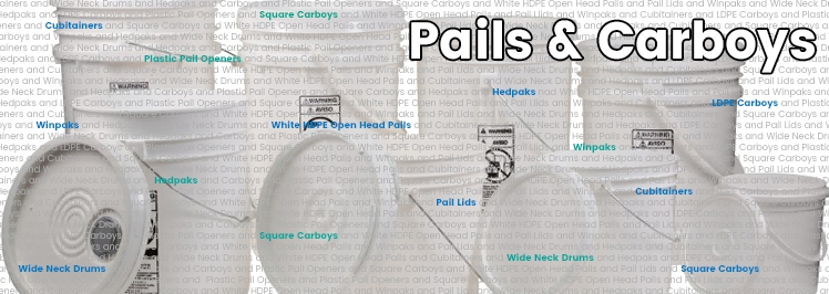 Pails & Carboys
