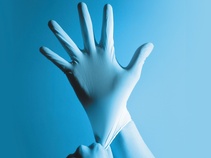 3mil Powder Free Nitrile Exam Gloves - Blue