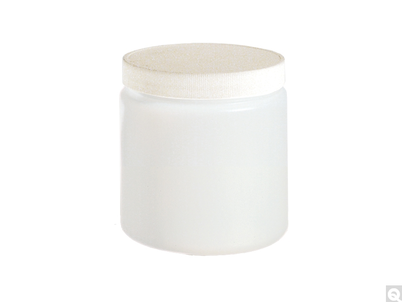 Straight Sided Round Jars - HDPE