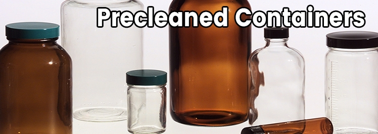 Precleaned Containers