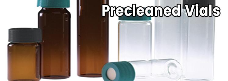 Precleaned Vials
