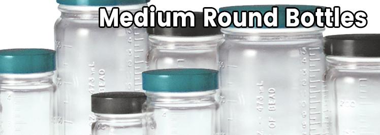 Medium Round Bottles