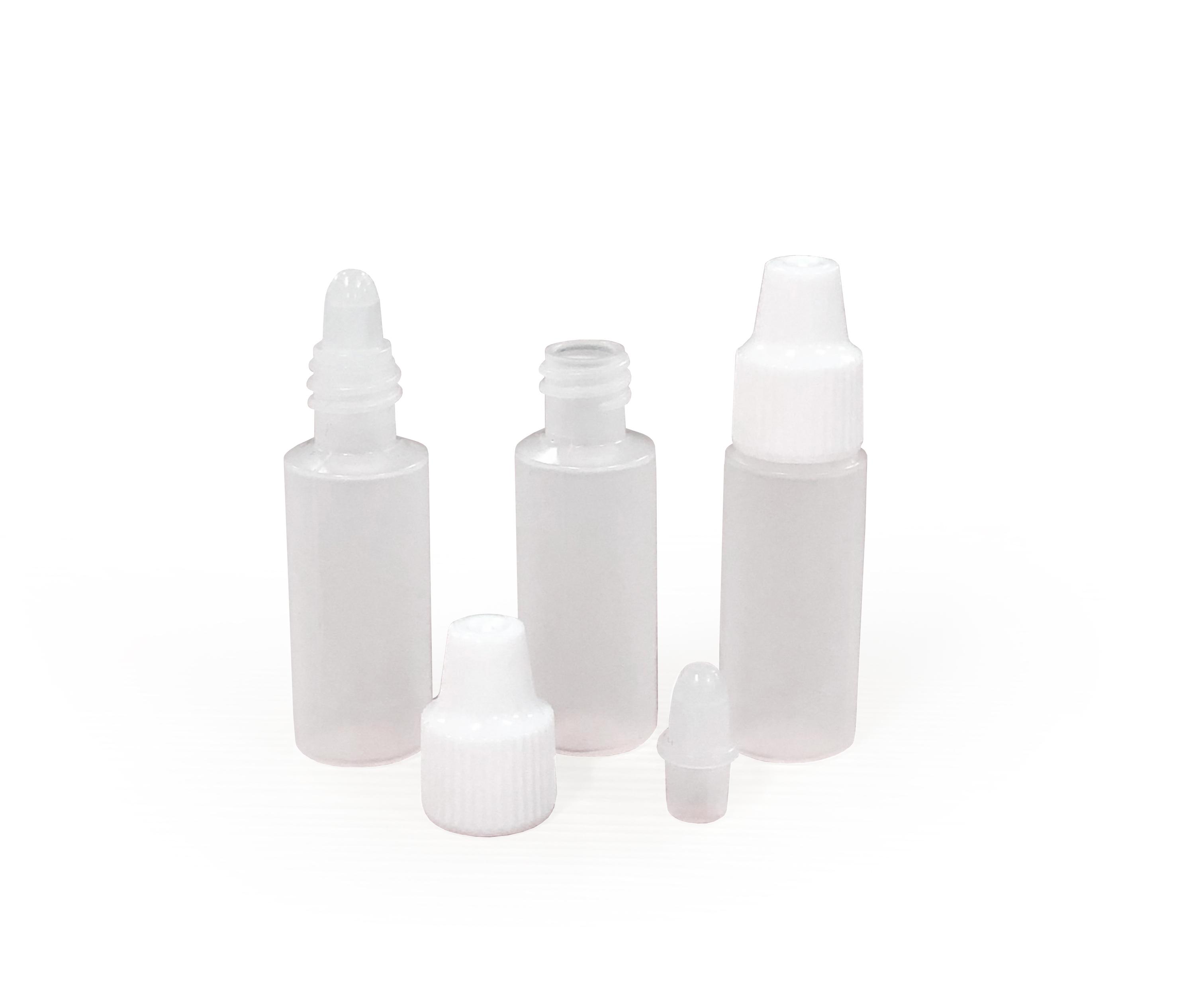 LDPE Cylinder Vials & Dropper Tip Caps