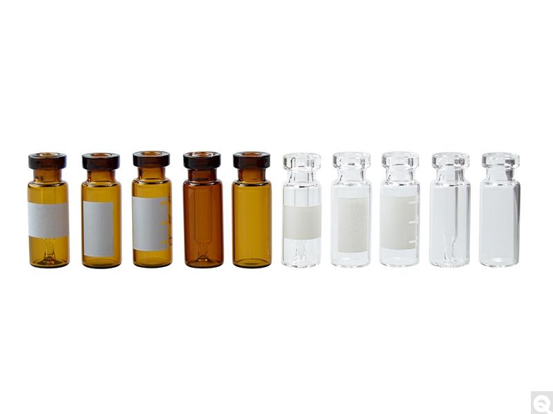 Crimp Top Glass Chromatography Vials