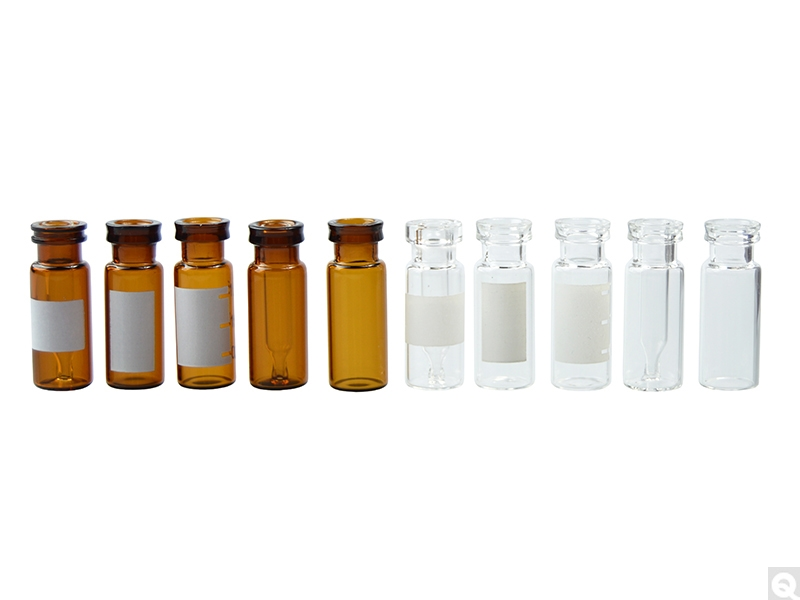 Snap Seal Glass Chromatography Vials
