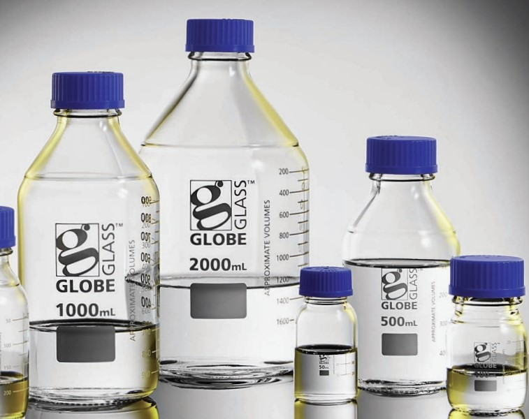 Simax® Glass Media Bottles