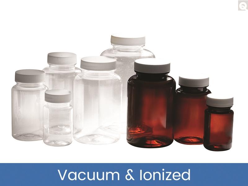 Packer Bottles - PET, Vacuum & Ionized
