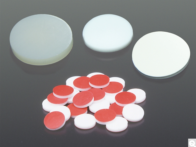 PTFE/Red Rubber Septa