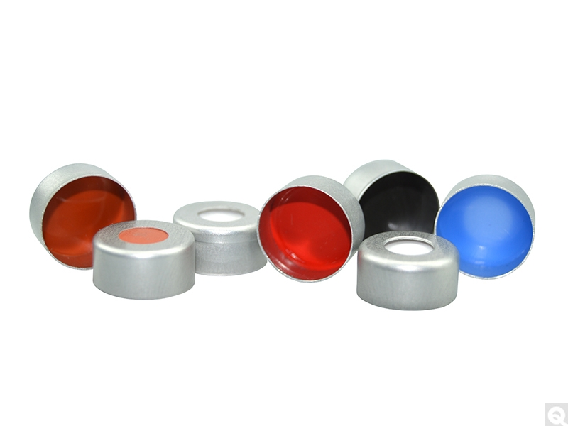 Aluminum Crimp Seals for Chromatography Vials