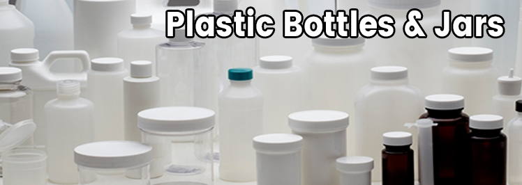 Plastic Bottles & Jars