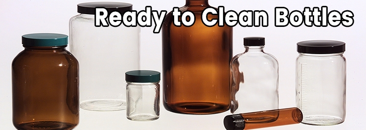 Ready to Clean Bottles