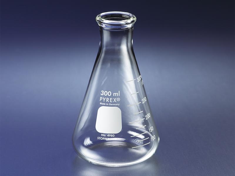 PYREX® Narrow Mouth Heavy Duty Erlenmeyer Flasks