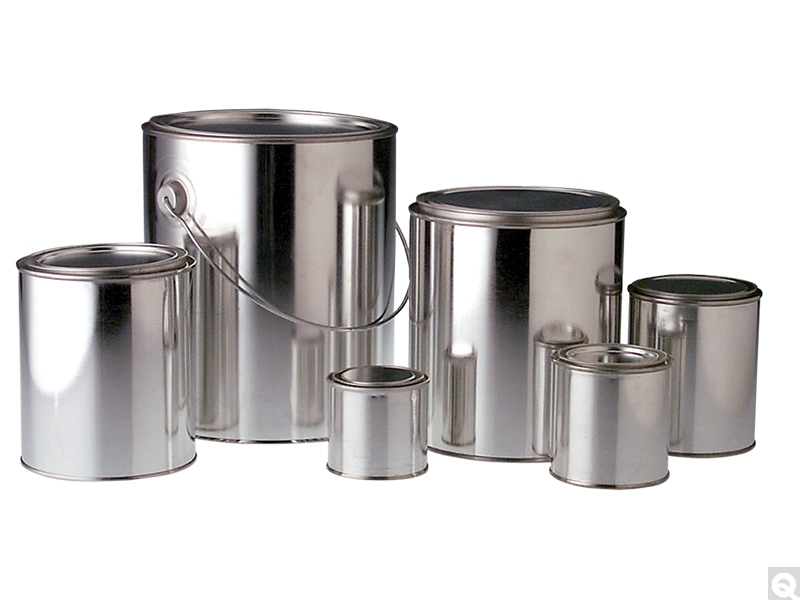 Unlined Round Paint Cans Qorpak