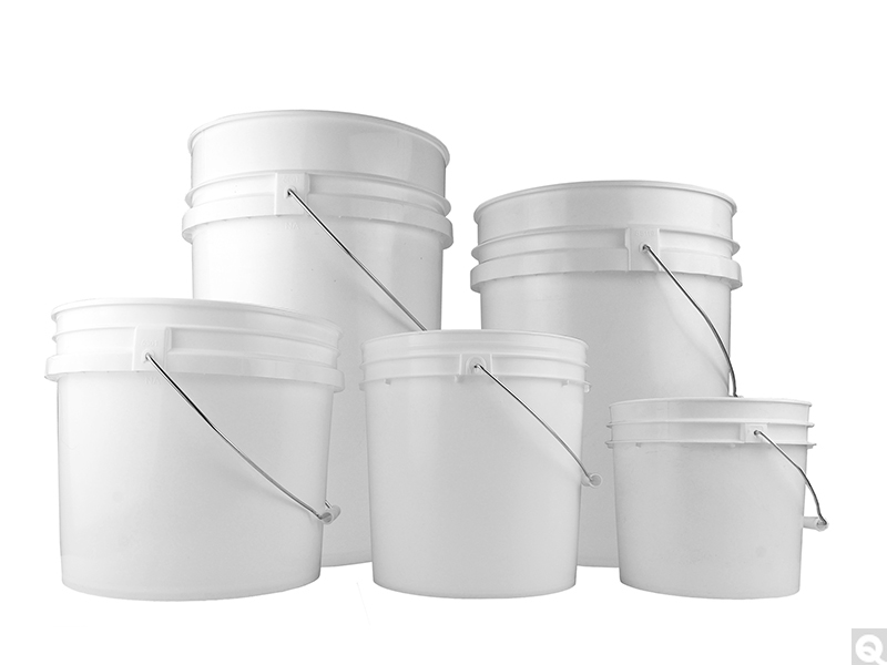 White HDPE Open Head Pails