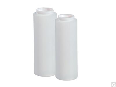 HDPE Wide Mouth Cylinder Bottles - Natural
