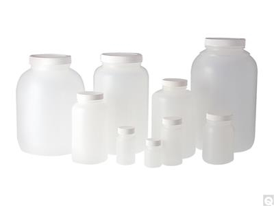 Wide Mouth Round Bottles