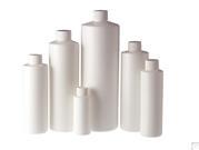 HDPE Cylinder Bottles - White