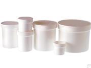 Polypropylene Jars - White