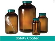 Safety Coated Wide Mouth Packer Bottles