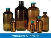 Boston Round Bottles - Amber, Vacuum & Ionized