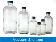 Boston Round Bottles - Clear, Vacuum & Ionized