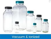 French Square Bottles, Vacuum & Ionized