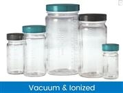 Graduated Medium Round Bottles, Vacuum & Ionized