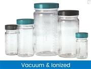 Graduated Medium Round Bottles, Vacuum & Ionized