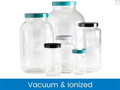 Standard Wide Mouth Bottles, Vacuum & Ionized