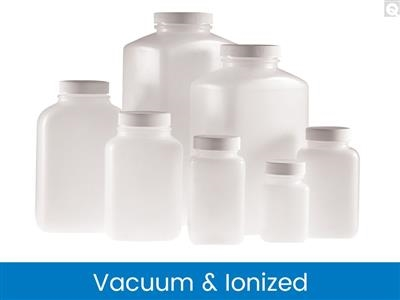 Oblong Bottles, Vacuum & Ionized