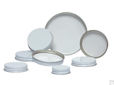 Pulp/Polyethylene Lined Metal Caps