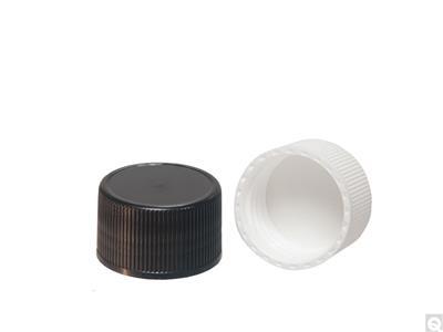F422 HDPE Foam Lined 38-439 Polypropylene Caps
