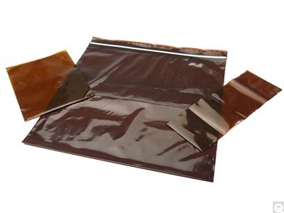 Amber Zip Bags