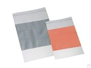 4 MIL Clear Zip Bags with Write-On Block