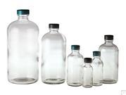 Clear Boston Round Bottles