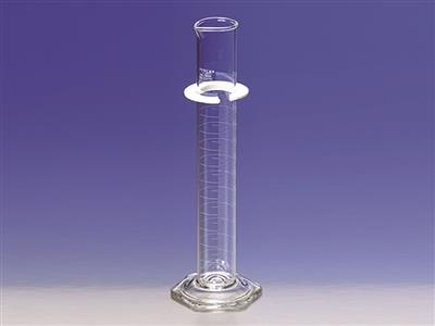 PYREX® Certified/Serialized, Single Metric Scale, Class A Graduated Cylinders