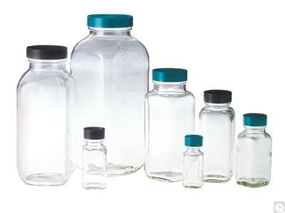 French Square Bottles