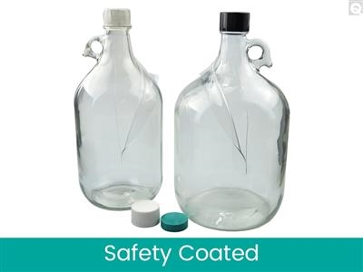 Safety Coated Jugs - Clear