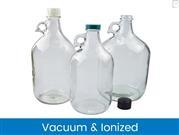 Clear Glass Jugs, Vacuum & Ionized