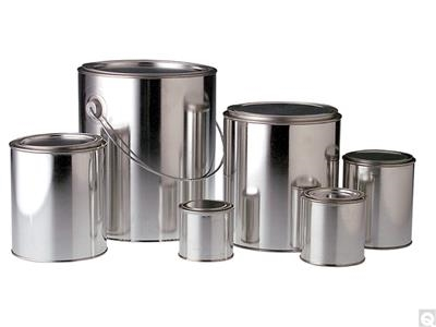 Unlined Round Paint Cans