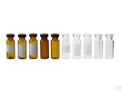 Crimp Top Glass Chromatography Vials