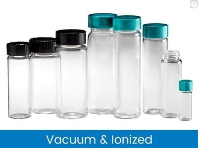 Screw Thread Vials - Clear, Vacuum & Ionized
