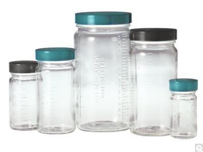 Graduated Medium Round Bottles