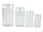 Plain Medium Round Bottles