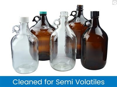 Jugs, Cleaned for Semi-Volatiles