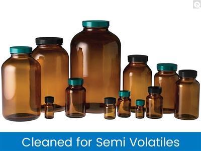 Packer Bottles, Cleaned for Semi-Volatiles