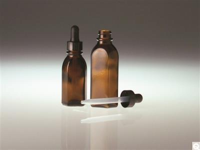 Oval Dropper Bottles